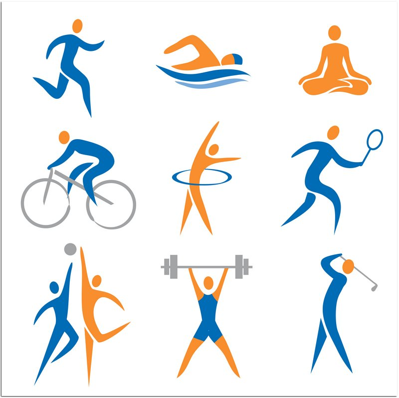 Girls sports logos clip art